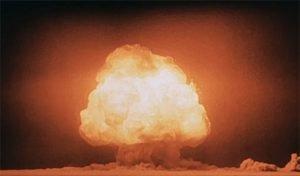 Trinity test detonation